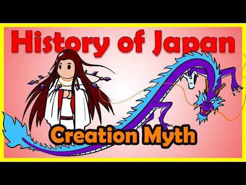 Shinto Creation Myth: Izanami and Izanagi | History of Japan 1