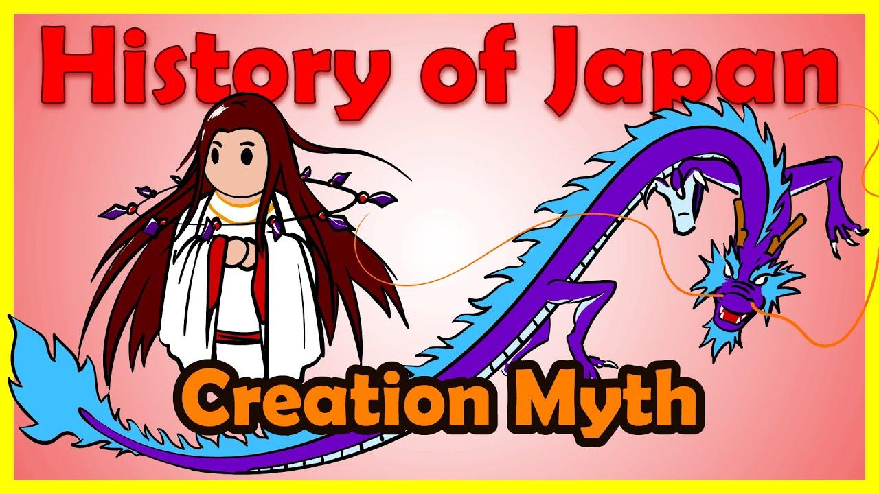 shinto creation myth izanami and izanagi history of
