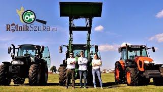 Rolnik Szuka Traktora na Open Farm - Case Luxxum, John Deere 5R, Kubota M5