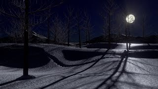 Blender 2.72 Tutorial - Create a Snowy Moonlit Landscape