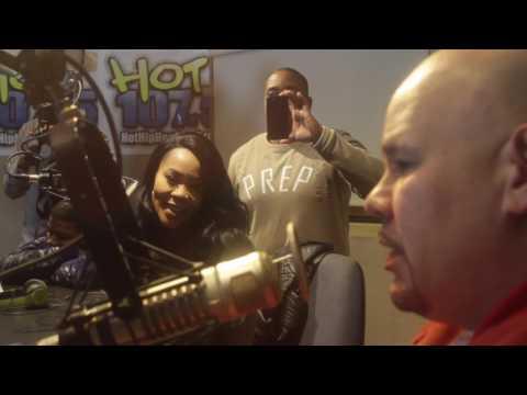 fat joe live interview at hot 107.5 Detroit