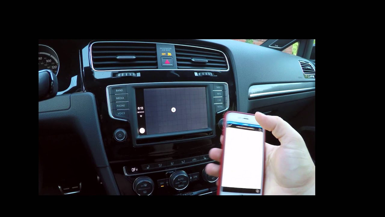 Volkswagen 2016 Mib Ii With Tomtom Apple Carplay Youtube