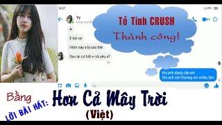 Tỏ tình CRUSH bằng lời bài hát Hơn Cả Mây Trời - Việt