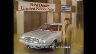 1976 Ford Mustang TV Ad Commercial (4 of 5)