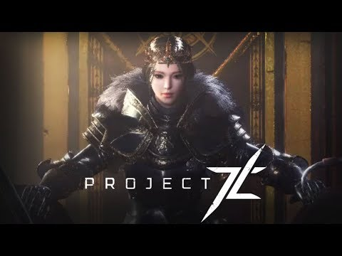 Project TL Trailer And Cinematic Gameplay - Unreal Engine 4 - New PC MMORPG By NCSoft