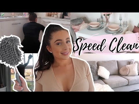 ALL DAY CLEAN WITH ME! SPEED CLEAN | EXTREME CLEANING MOTIVATION | Hazel Maria Wood