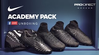PRO:DIRECT SPORT Nike Academy Pack