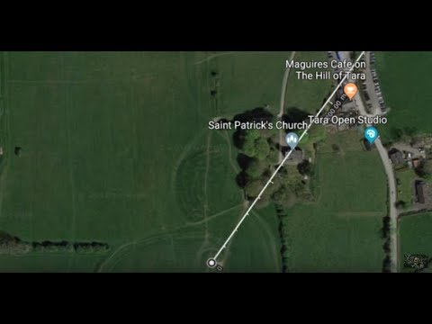 1 My Discoveries Hill Of Tara Newgrange And Giants Ley Lines In