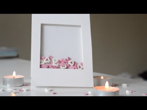 Valentines Day Shaker Card DIY YouTube – Do It Yourself Valentines Day Cards
