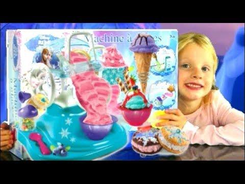 Disney la reine des neiges crash test la machine glace youtube - Robe reine des glaces ...