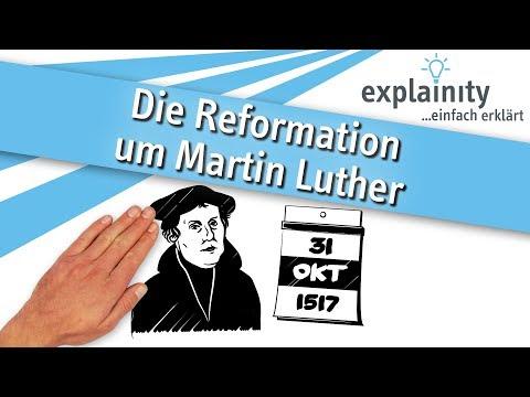 The Reformation led by Martin Luther explained (explainity® explanatory video)из YouTube · Длительность: 3 мин58 с