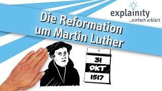 Die Reformation um Martin Luther einfach erklärt (explainity® Erklärvideo)