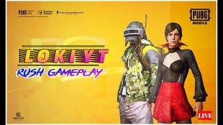 #Loki YT   #PUBG #Mobile in Telugu   #268   Tournament at 1k Likes