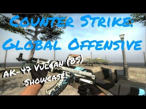 Remade Counter Strike Go Ak 47 Vulcan Battle Scarred Bs