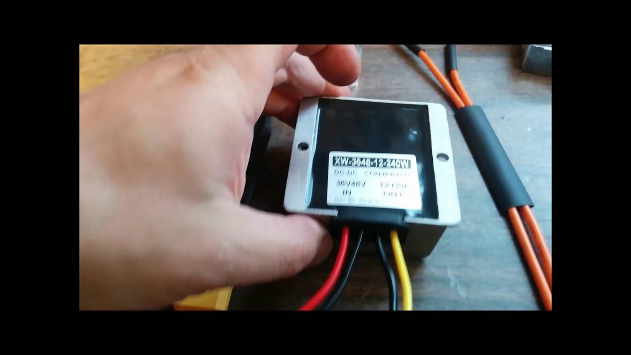 Waterproof Dc Dc 36v 48v Step Down 12v 20a 240w Power
