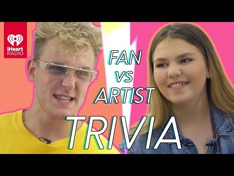 Jake Paul Challenges Super Fan In Trivia Battle | Fan Vs. Artist Trivia
