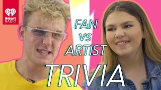 Jake Paul Challenges Super Fan In Trivia Battle   Fan Vs. Artist Trivia