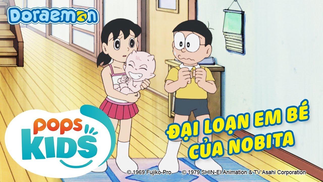 [S7] Doraemon Tập 338 – Đại Loạn Em Bé Của Nobita – Hoạt Hình Tiếng Việt