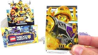 LEGO Nexo Knights 2-TRADING CARDS 50 diverse-tedesco