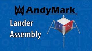 Lander Assembly for ROVER RUCKUS