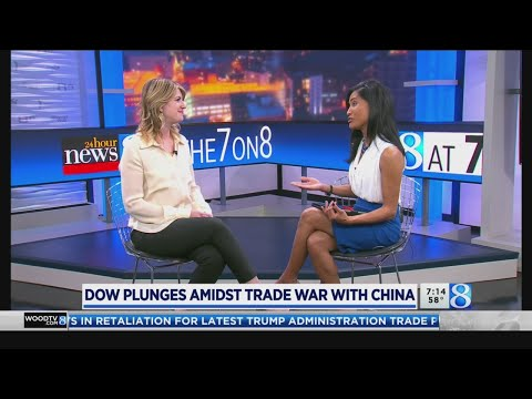 Rough day on Wall Street amid US-China trade war