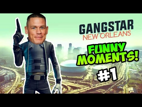 Gangstar New Orleans Funny Moments #1