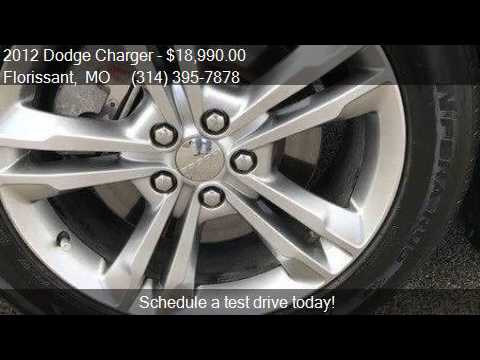 2012 Dodge Charger Rt Plus For Sale In Florissant Mo