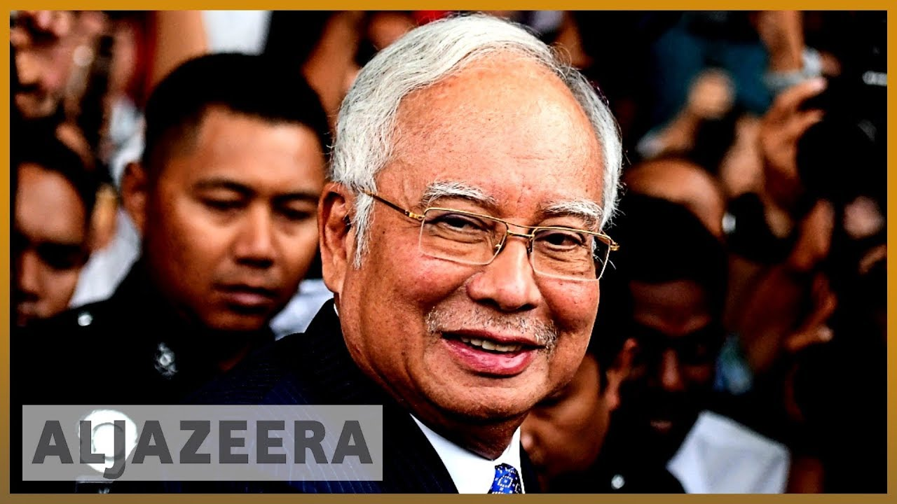 AlJazeera English:Former Malaysian PM Najib Razak in court for money laundering