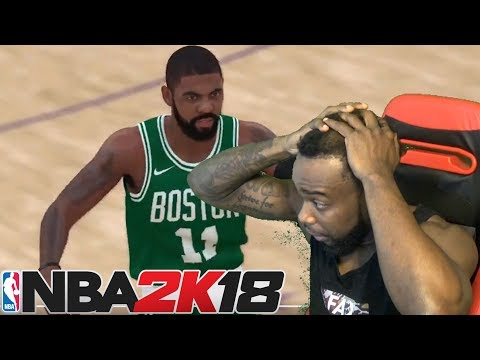 NOOO! KYRIE IRVING IN A BOSTON CELTICS JERSEY! NBA 2K18 Gameplay