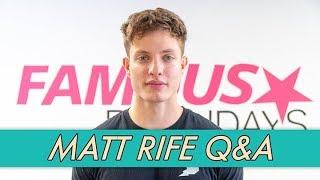 Matt Rife Q&A