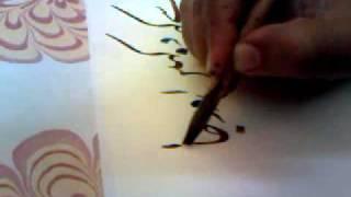 Calligraphy poetry bahadur shah zafar by Ustad Khurshid Gohar qalam_pakistan