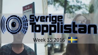 The Official Swedish Singles Chart TOP 20 | Week 35, August 26th 2016