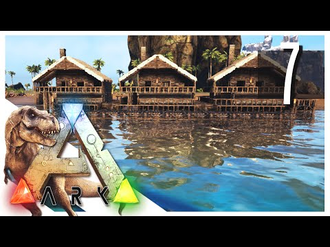 ARK: Survival Evolved - Small Houses! S2E07 (ARK Gameplay)