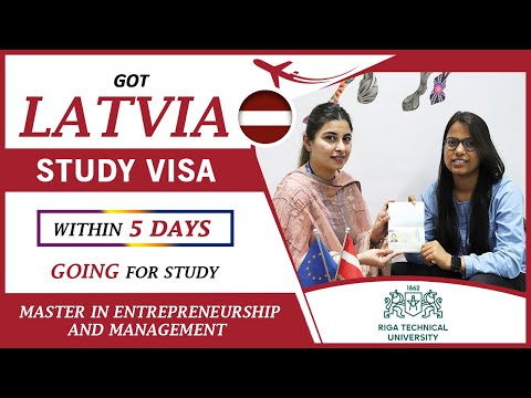 Study in Latvia | Latvia Visa Approved within 5 days |  Apply Now!