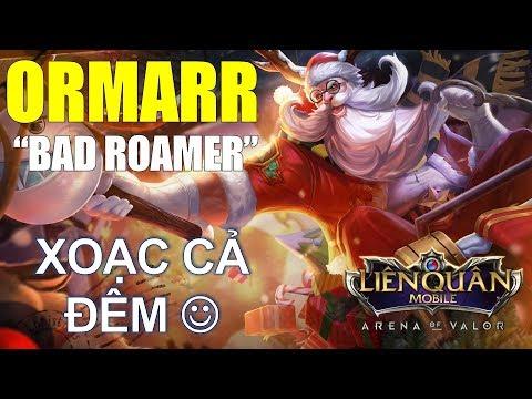 Liên quân mobile: ORMARR Thông thỏa thích Top Roamer k bao giờ lỗi thời - Leo rank cực dễ