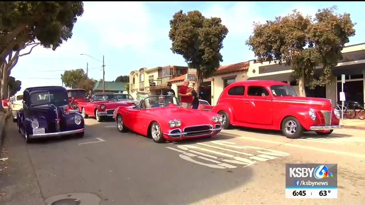 Morro Bay Car Show 2020.Classic Cars Roll Into Town For Annual Crusin Morro Bay Car Show