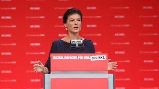 Hannoverscher Parteitag: Rede von Sahra Wagenknecht, Spitzenkandidatin zur Bundestagswahl
