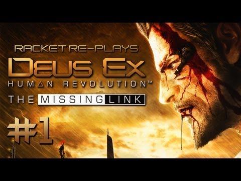 The Missing Link (Deus Ex: HR DLC) - Part 1: Factory Zero [Non-Lethal]