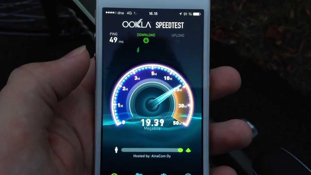 Dna nopeustesti 4g – Internet ja tietokoneet  Nopeustesti