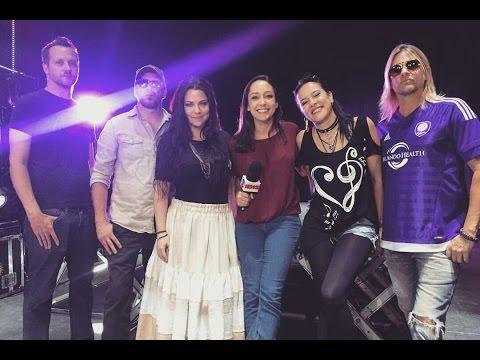 Evanescence Interview w/ Gabriella Bridi on Globo News (04/21/2017)
