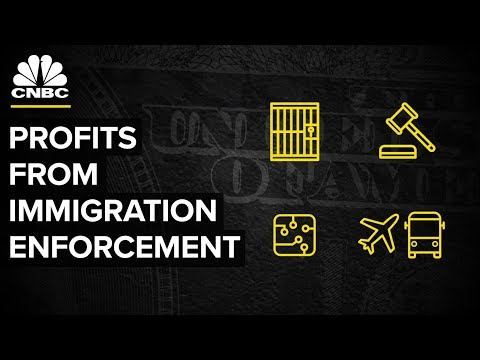 Who Profits From Immigration Enforcement? | CNBC