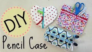Diy Pencil Case & Makeup Bag | No Sew Project | By Michele Baratta