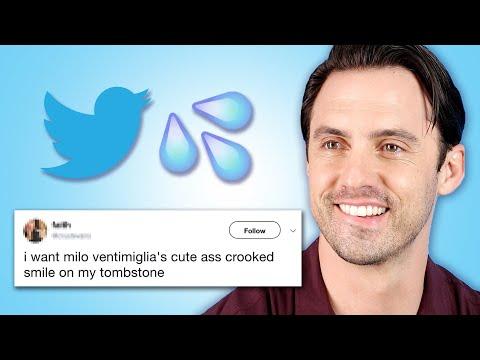 Milo Ventimiglia Reads Thirst Tweets