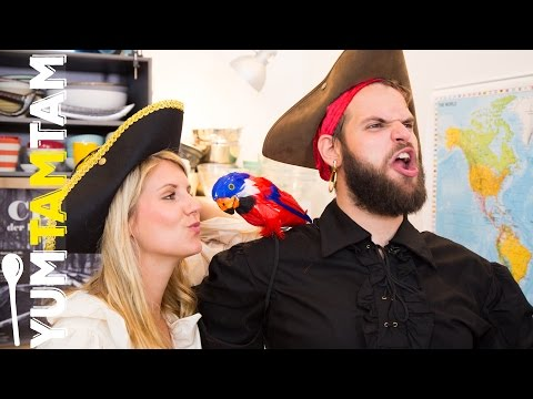 Kalter Hund-Piratenschiff // Talk Like A Pirate Day // #yumtamtam