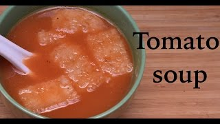 tomato soup recipe in hindi | delicious tomato soup