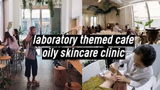 Greenhouse Lab Themed Cafe, Gentle Monster & Breakout Skincare Treatment | DTV #27