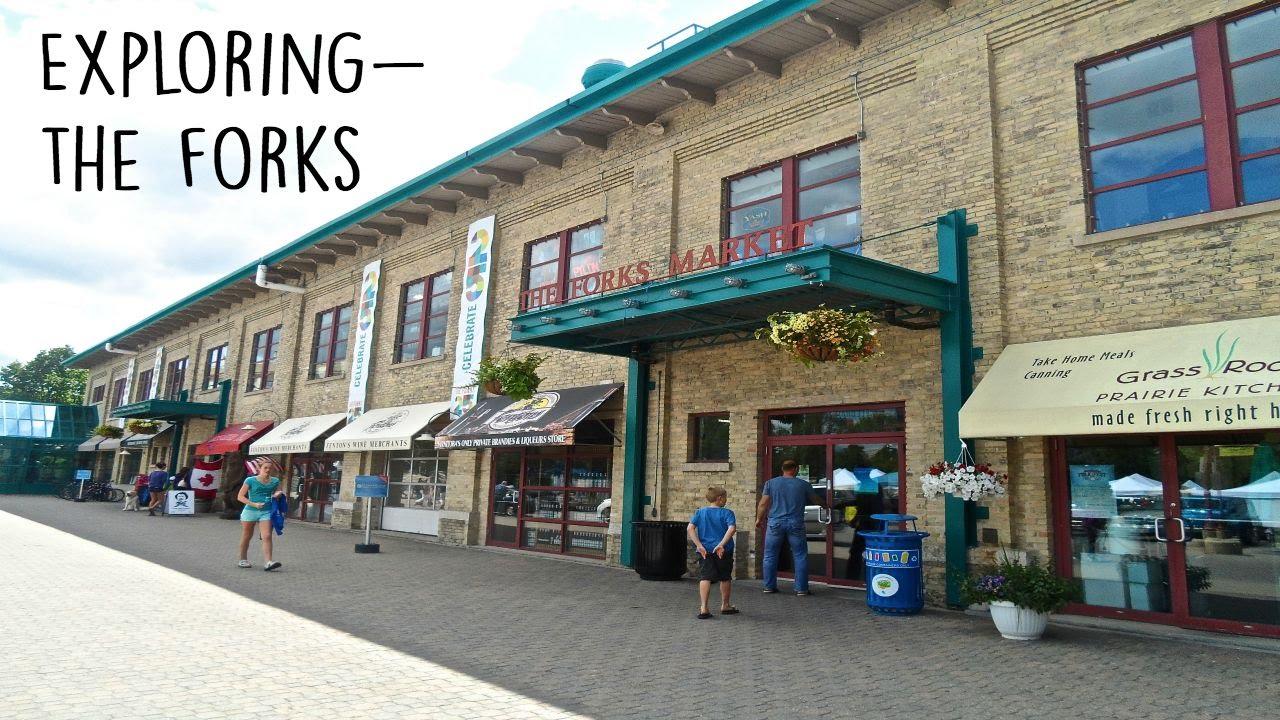 Exploring Winnipeg |The Forks| - YouTube