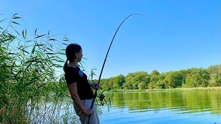 Рыбалка на поплавок ПРИЕХАЛ НА КАРАСЯ А КЛЮНУЛ ОН УДОЧКА ДУГОЙ