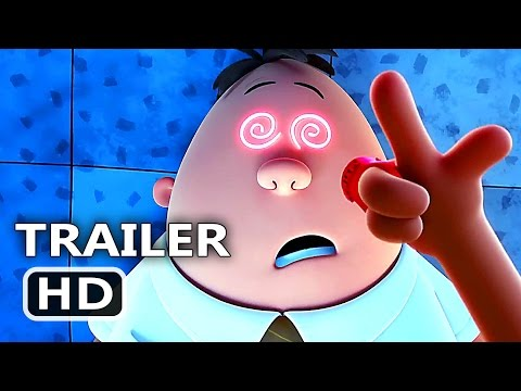 "Thumbnail: CАPTАІN UNDERPАNTS ""Hypnotizing Transformation"" Clip + Trailer (2017) Animation, Kevin Hart Movie HD"