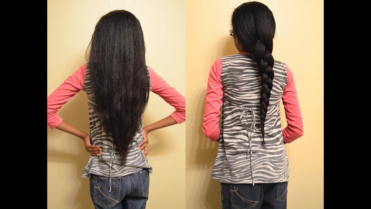 How To Maintain Little Girls Flat Ironed Hair Ladybug